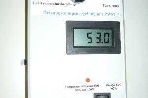 Bauen einer Differenztemperaturregelung zur Umwälz Pumpen ...