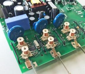 Rogowskispulen in einem Stromzähler