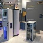 Remeha CalentaFC 390 mit Brennstoffzelle von Toshiba ausgestellt auf der ISH 2017